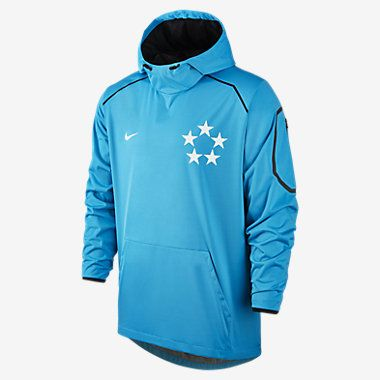 NWT Nike Field General Fly Rush Men's Football Hoodie 684371 407 SZ L  Clothing, Shoes & Accessories:Men's Clothing:Athletic Apparel