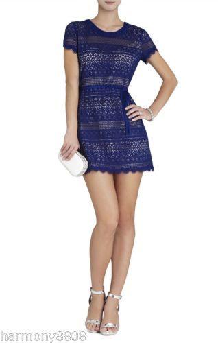 New-BCBG-MAX-AZRIA-DARLITA-LACE-SHEATH-DRESS-cocktail-blue-2014-VFX6Z553-sz-10
