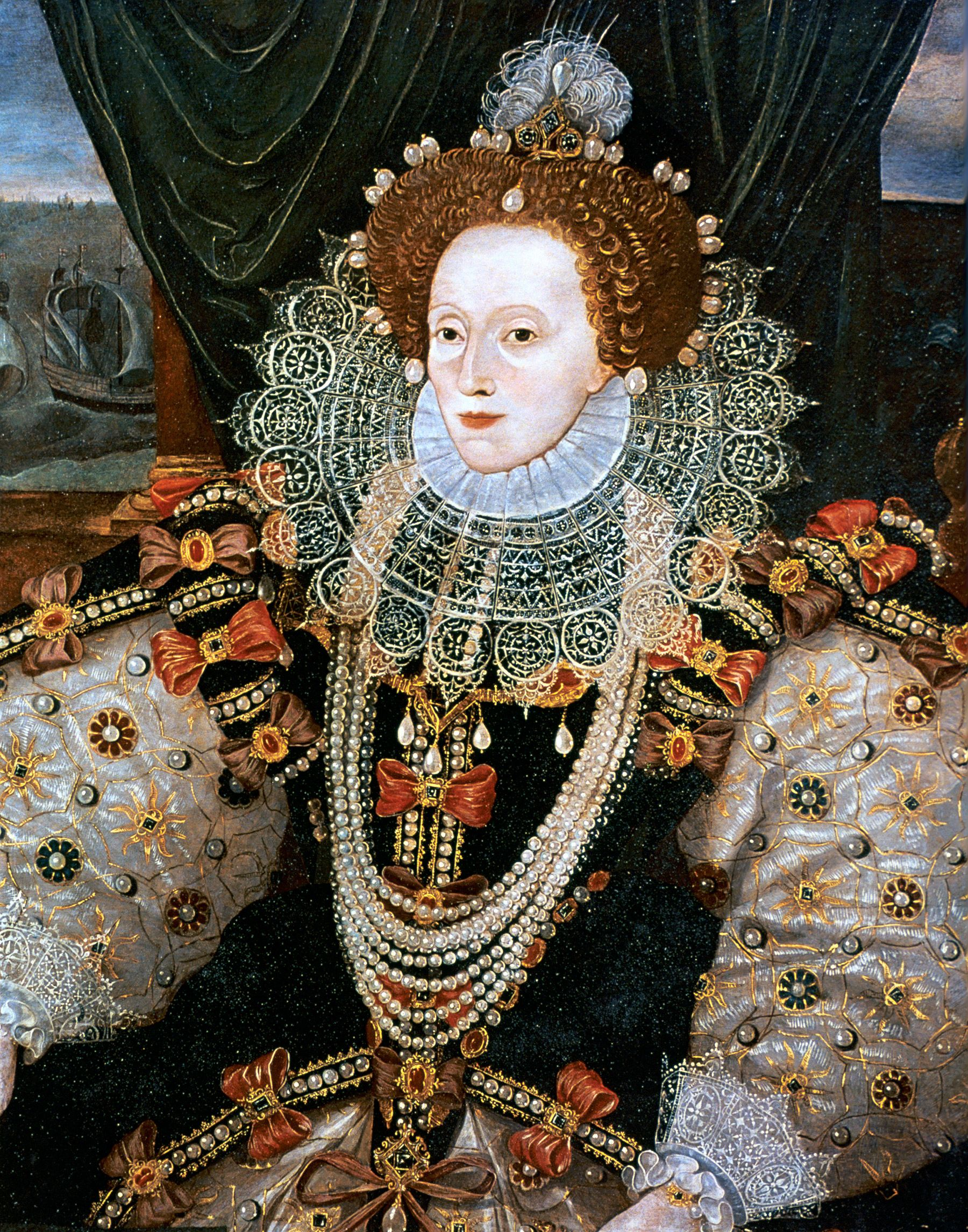 The Crushing Reason Queen Elizabeth I Caked Her Face with