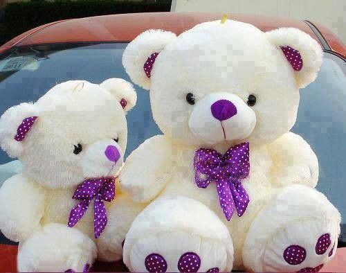 "Purple 8/"" Soft Cute Stuffed Dolls Hello Kitty Plush Wedding Valentine Toy Gift"