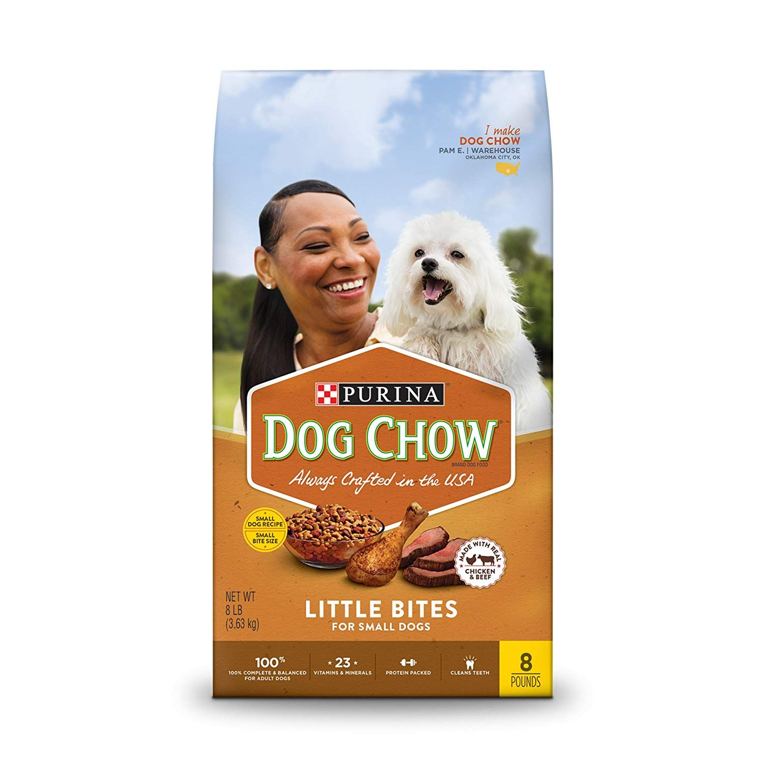 Purina Dog Chow Little Bites Real Chicken And Beef Adult Dry Dog