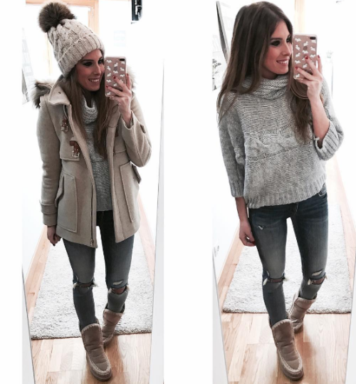 WITH MOU BOOTS | Winter fashion outfits, Winter outfits, Outfits