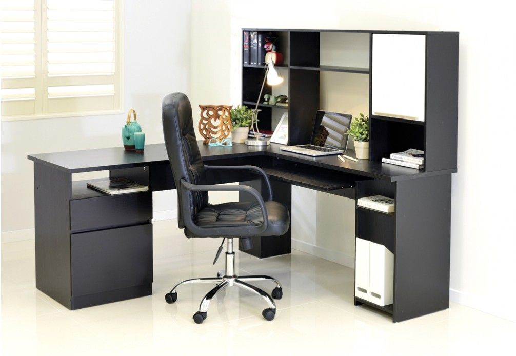 Echo Corner Desk With Hutch Super Amart