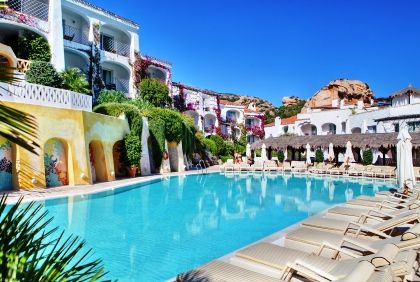 Grand Hotel Poltu Quatu Hotel Sardinien Sardinien Luxushotel