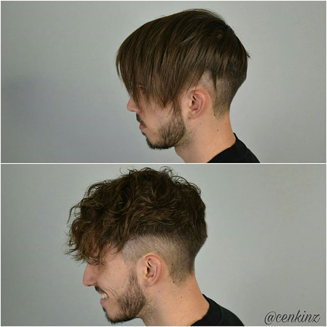 Perm Beachwaves For Men Mensstyle Menshaircut Beachwaves Perm Hairstyle Curlyhair Beard Beards Permed Hairstyles Womens Hairstyles Medium Hair Styles