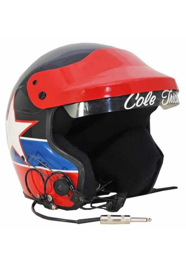 Cole Trickle Helmet 1 Tom Cruise Racing Gear Nascar Racing Helmet