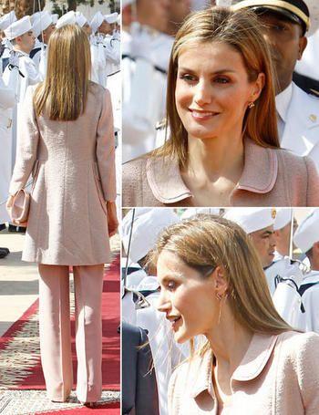 La reina Letizia en Marruecos, el 15 de julio de 2014
