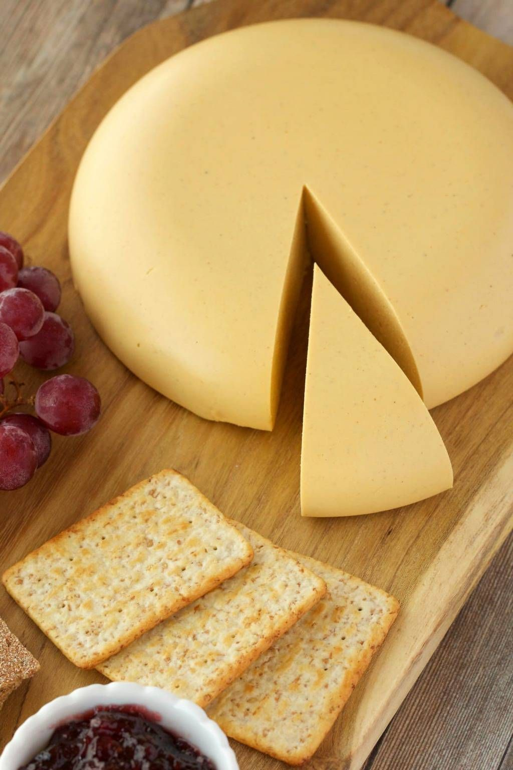 Vegan Cashew Cheese That Is Sliceable And Perfect For A Vegan Cheese Board Full Flavored Authentic Loo Vegan Cashew Cheese Cashew Cheese Vegan Cheese Recipes