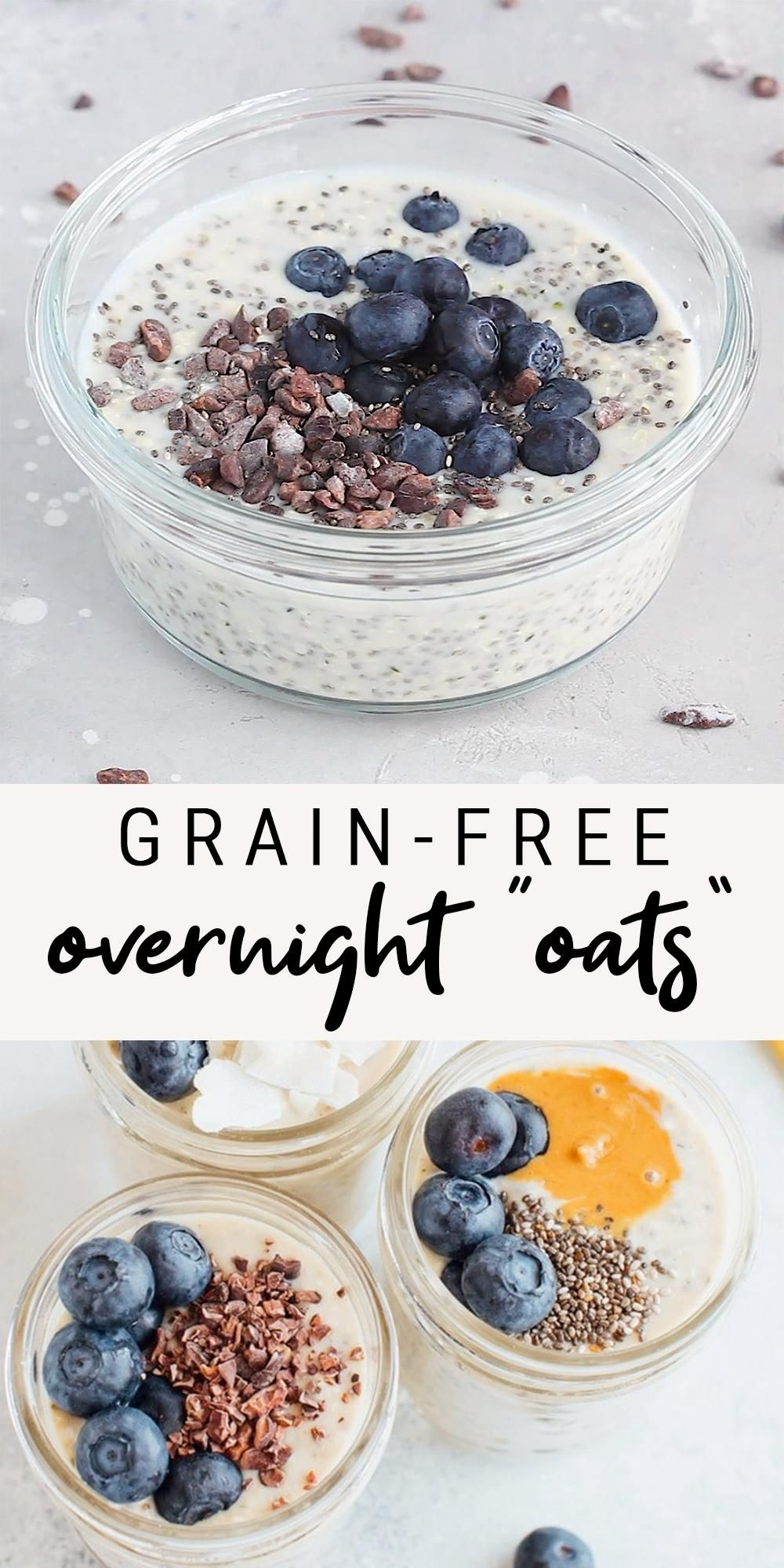 "Grain-Free Overnight ""Oats"" 