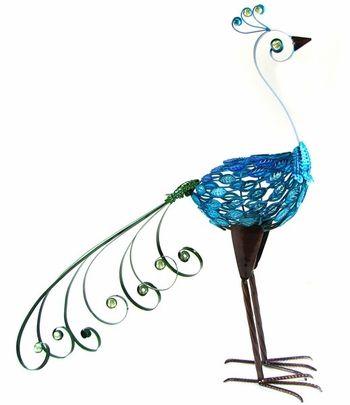Charming Upright Peacock Garden Statue Only $69.99 At Garden Fun