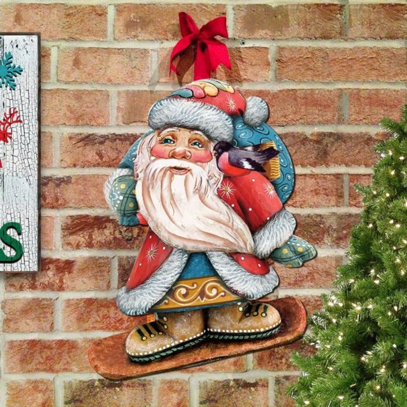 Wooden Outdoor Christmas Decorations Sale  from i.pinimg.com