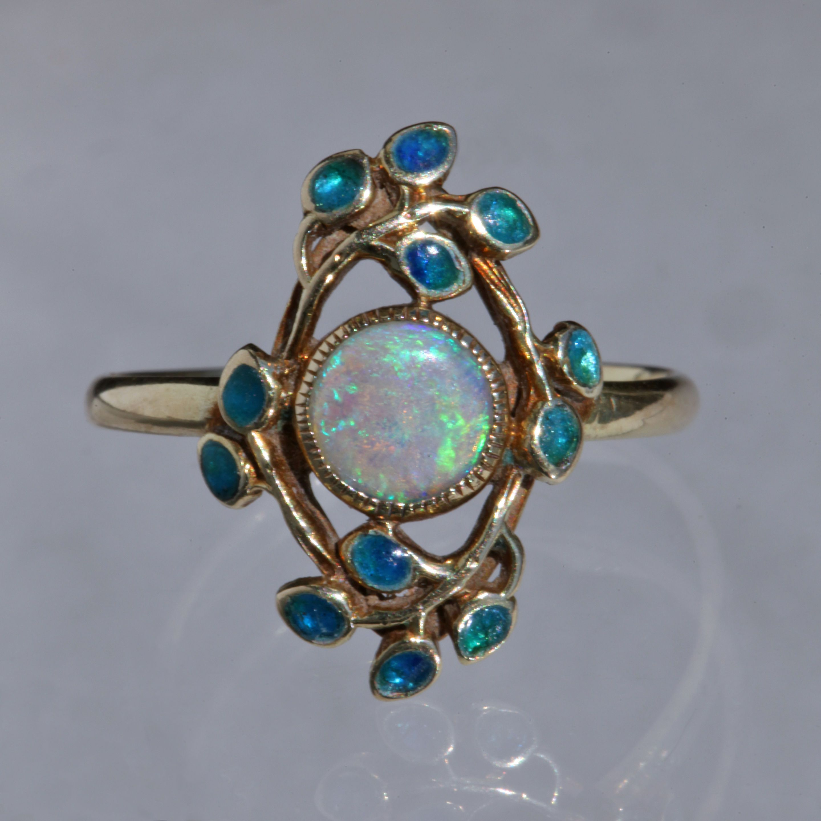 Liberty Co Arts Crafts Ring By Jessie Marion King Tadema Gallery Art Nouveau Jewelry Antique Jewelry Vintage Jewelry