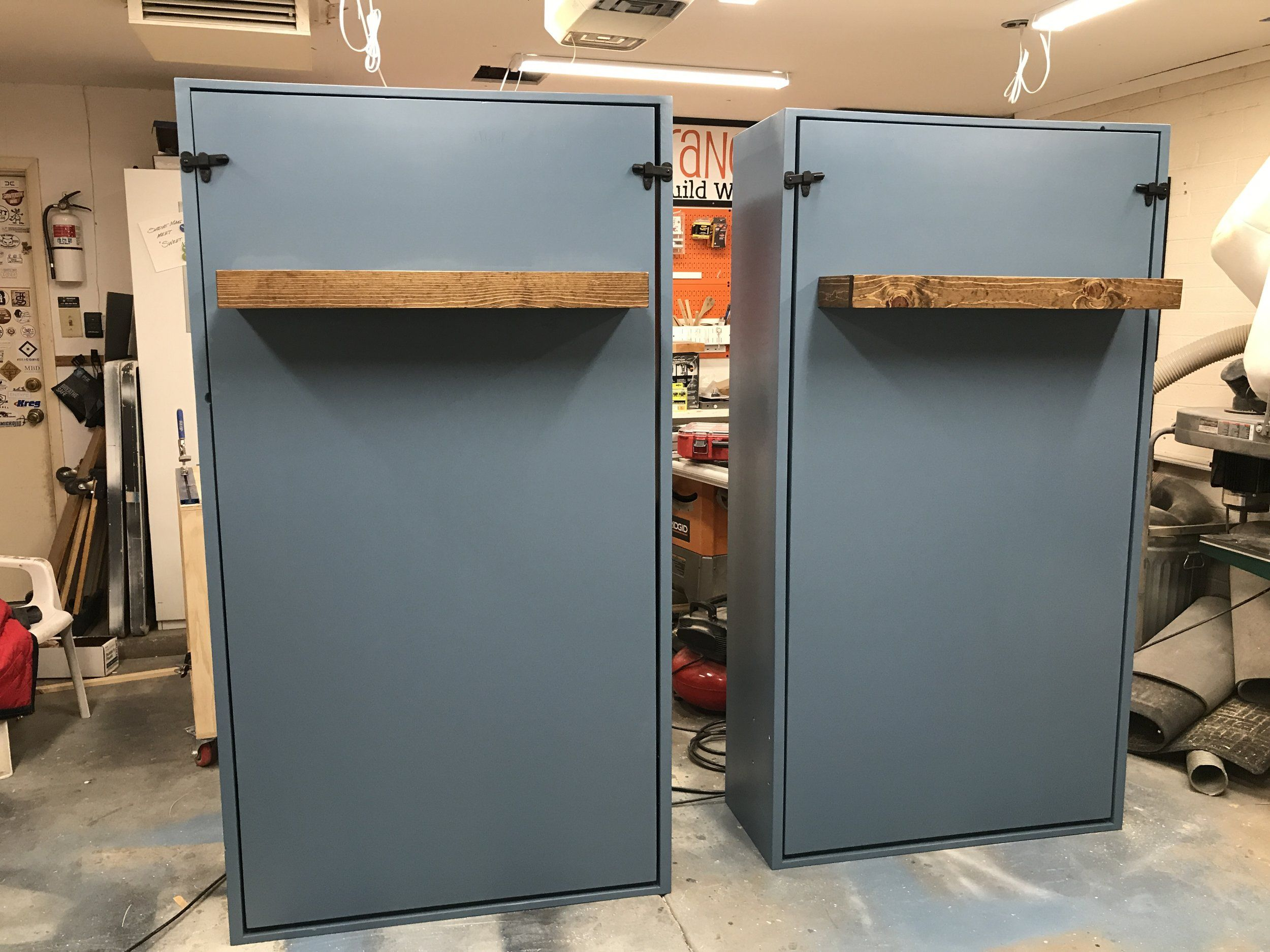 DIY Twin Murphy Beds Without Expensive Hardware in 2020