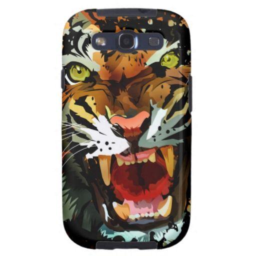Tiger Roar 2 Samsung Galaxy SIII Cover