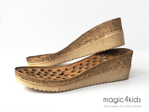 1e00cbc120c WEDGES SOLES WITH BASE INSOLES This listing is for wedges in cork color