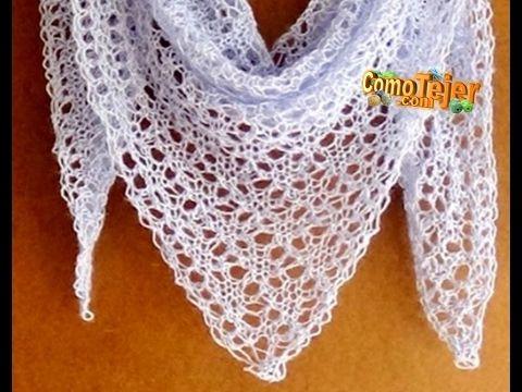 Delicadezas en crochet Gabriela: Chalinas patrones crochet y dos ...