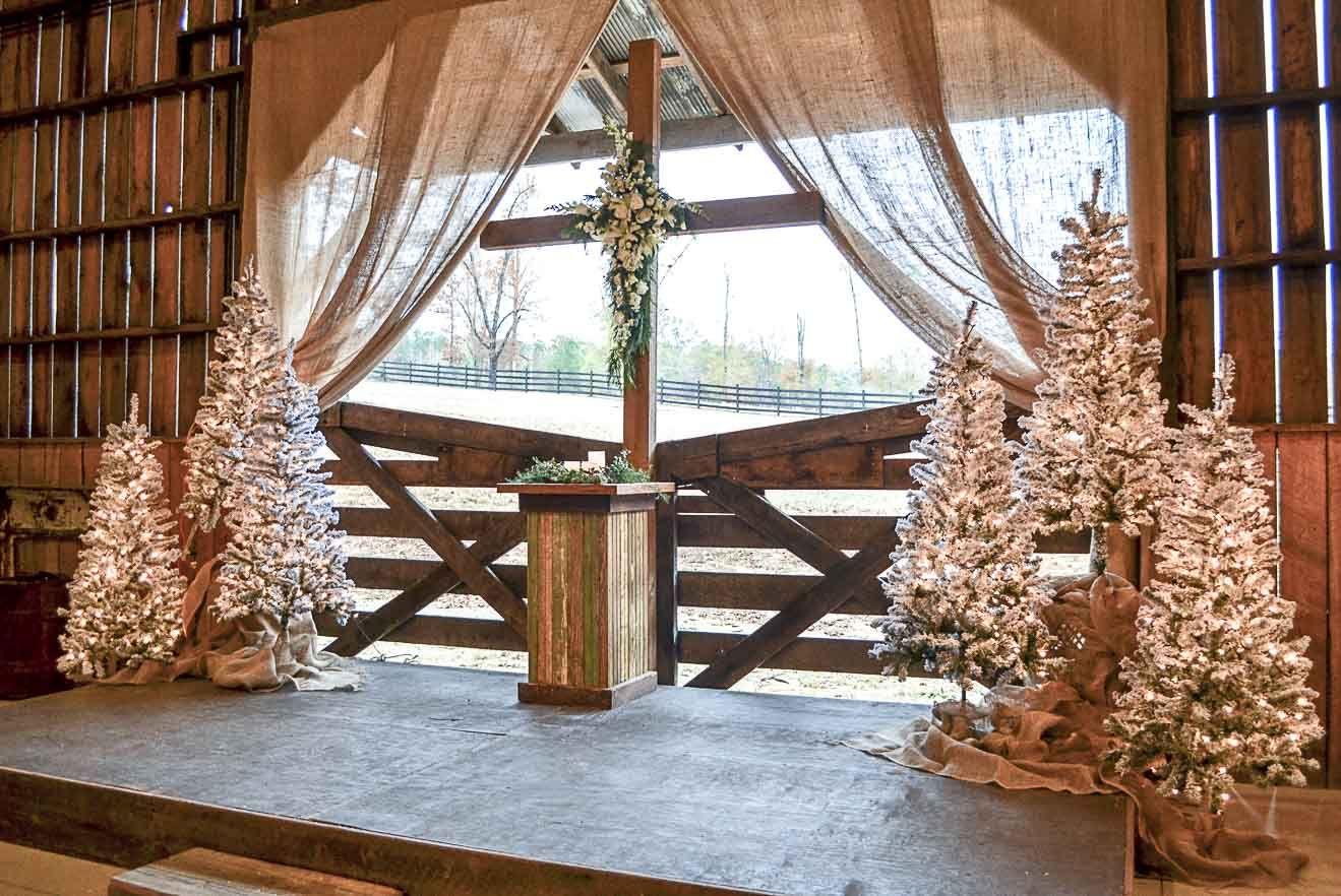 Wedding reception barn wedding décor christmas wedding wedding
