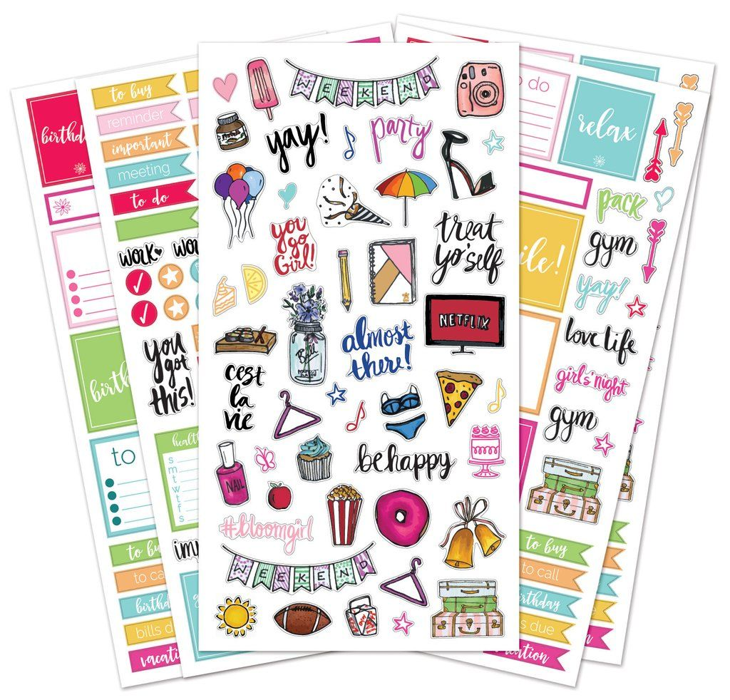 Sticker Sheets, Classic Planner Stickers | Planner ...
