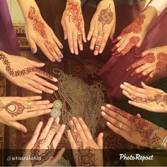 Inai Pengantin #henna #wedding #malaywedding