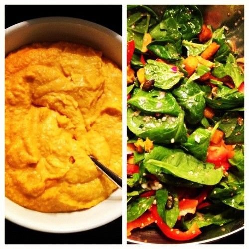 Pumpkin Hummus Recipe - so easy and perfect for fall and winter!