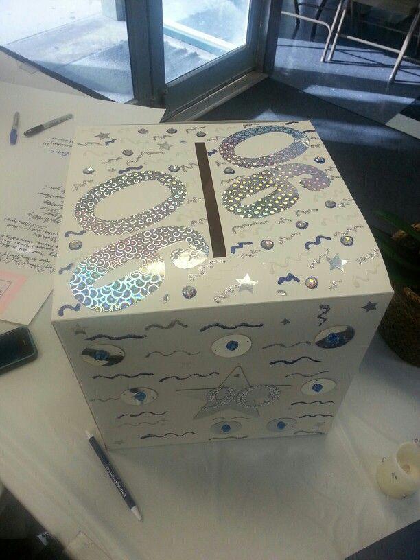 90th Birthday Card Box