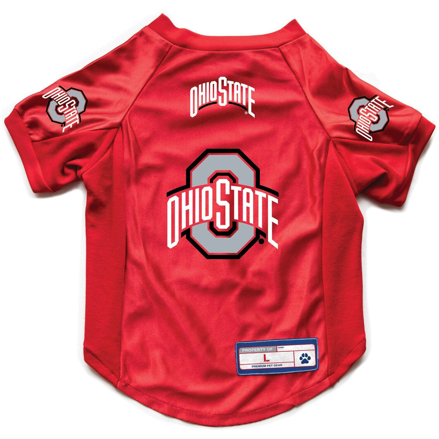 Little Earth Ohio State Buckeyes Pet Stretch Jersey