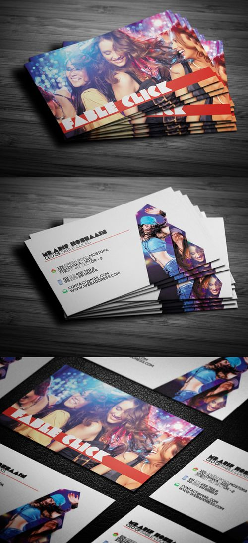 Photography Business Card Design 12
