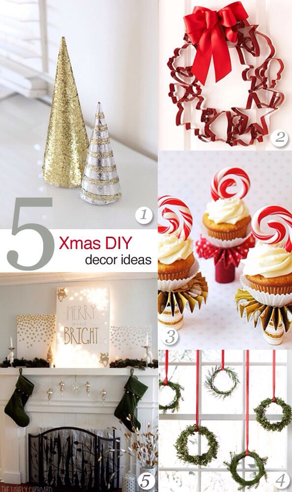 Xmas ideas holidays pinterest xmas ideas xmas and winter ideas 5 diy christmas decor ideas that are easy to execute and they look amazing no need to spend a fortune on christmas decorations just do it yourself solutioingenieria Gallery