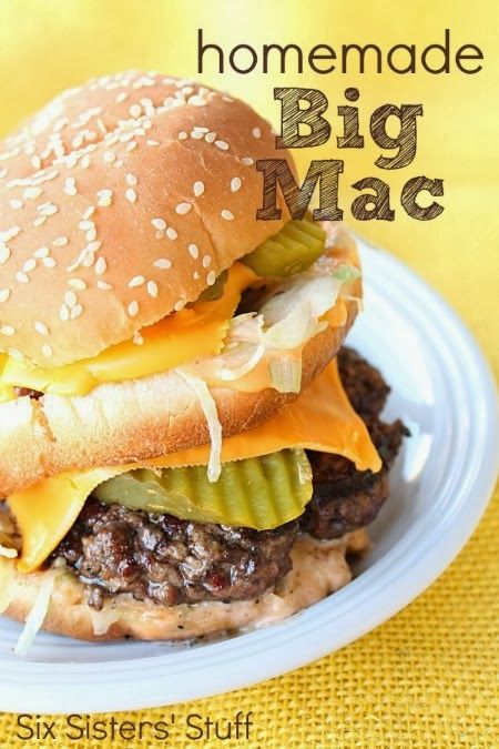 Make your own classic big mac :-)
