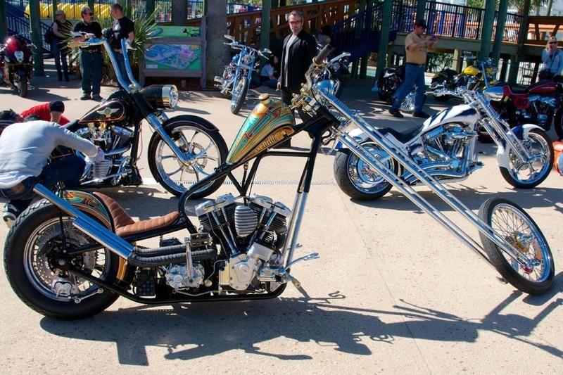 Long Bike built by Chaos Cycle of U.S.A.