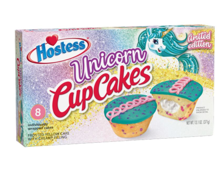 little debbie unicorn cakes nutrition