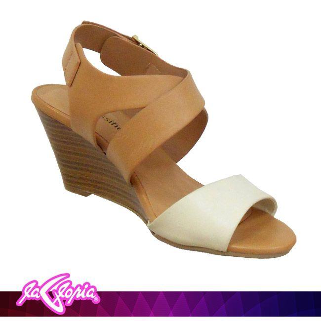 Luce tus pies con estas lindas #Sandalias #Cuña que se ajustan perfectamente #Calzado #Damas 1er.Semi Piso