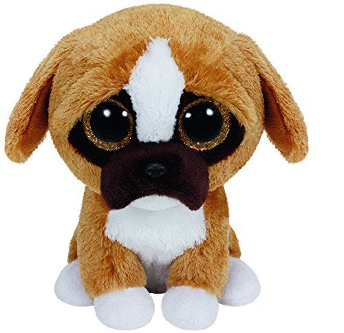 Brutus the Boxer Dog - TY Beanie Boo  e37ad19599e6