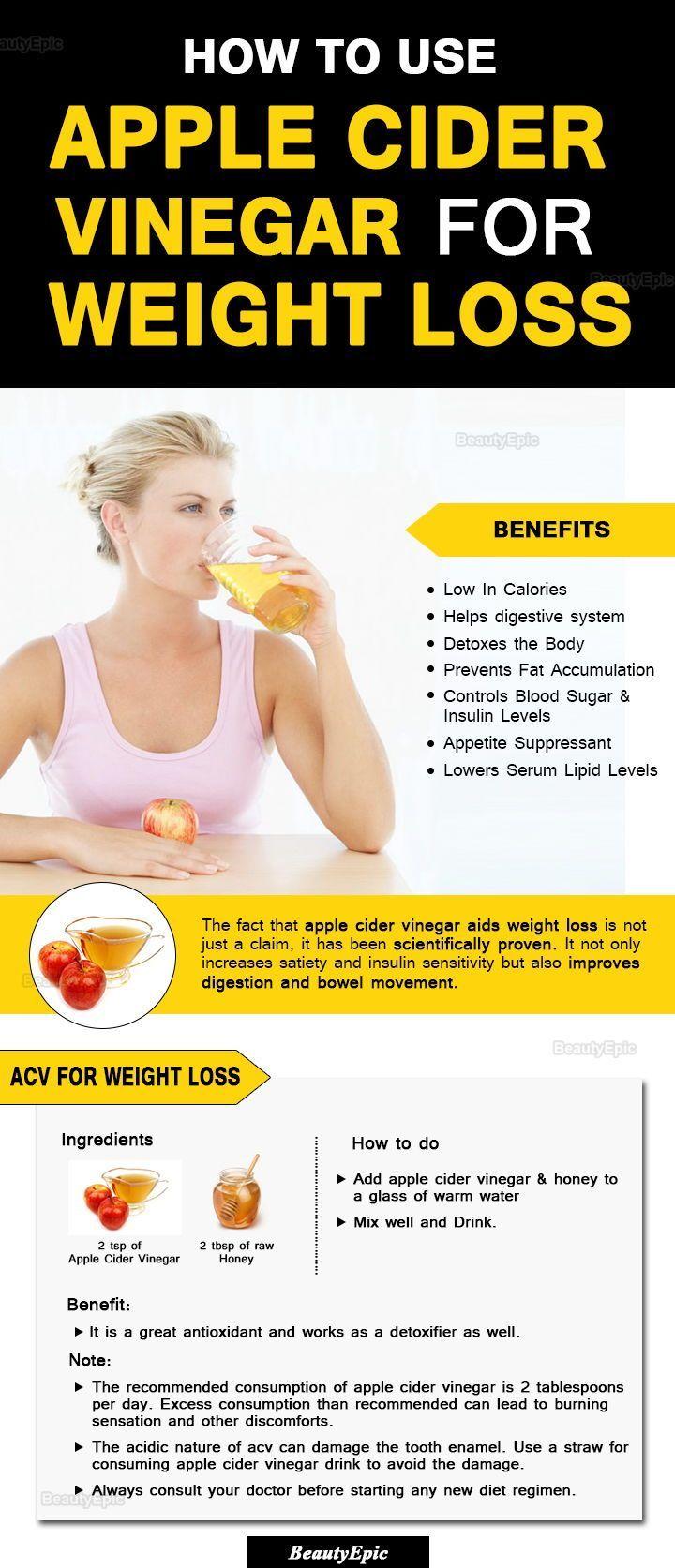 Pin on apple cider vinegar weight loss