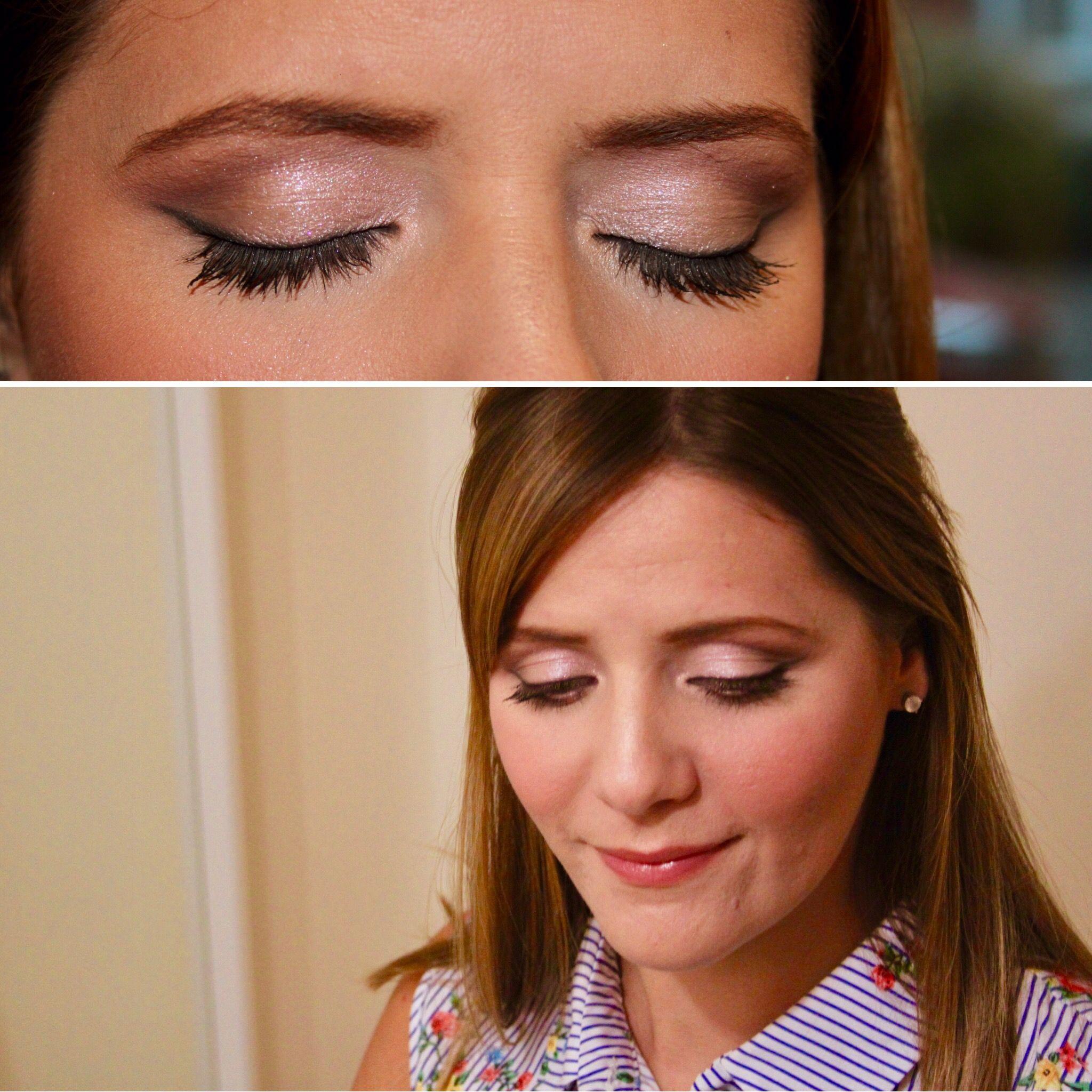 Pink smokey eye, Bobbi Brown eyeshadow, contour, eye