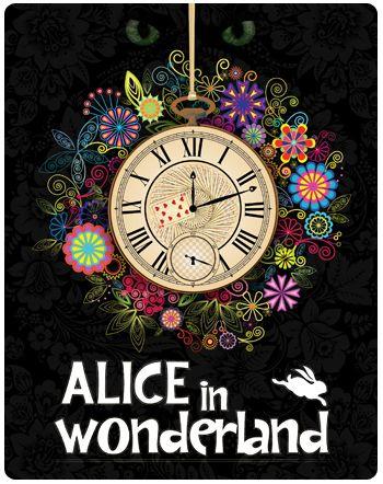 poster movie poster art disney 39 s alice in wonderland. Black Bedroom Furniture Sets. Home Design Ideas