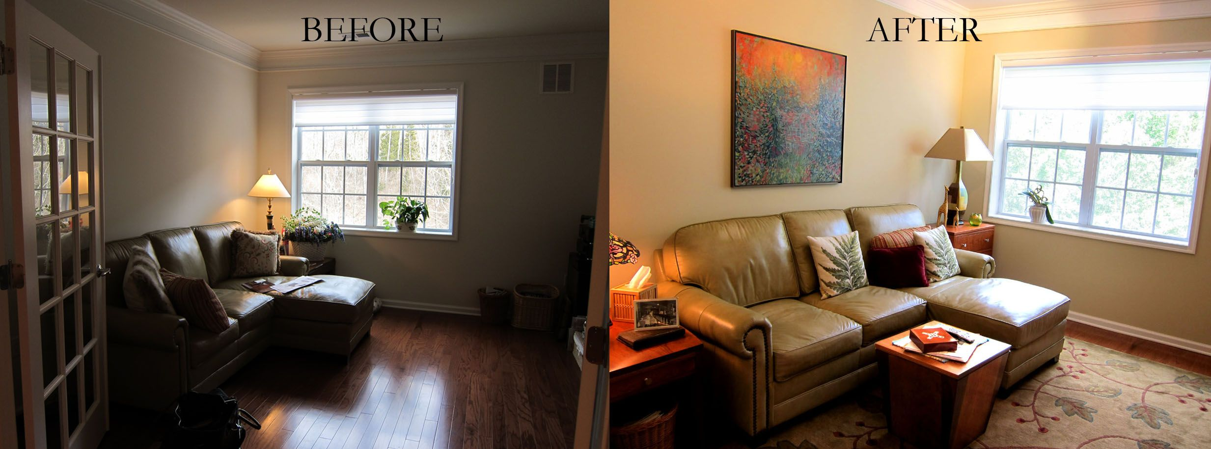 Before And After Www Artistry Interiors Com Interior Design