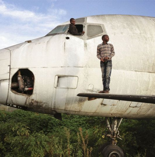 In Pictures: Aircraft Graveyards Repurposed By Congo's