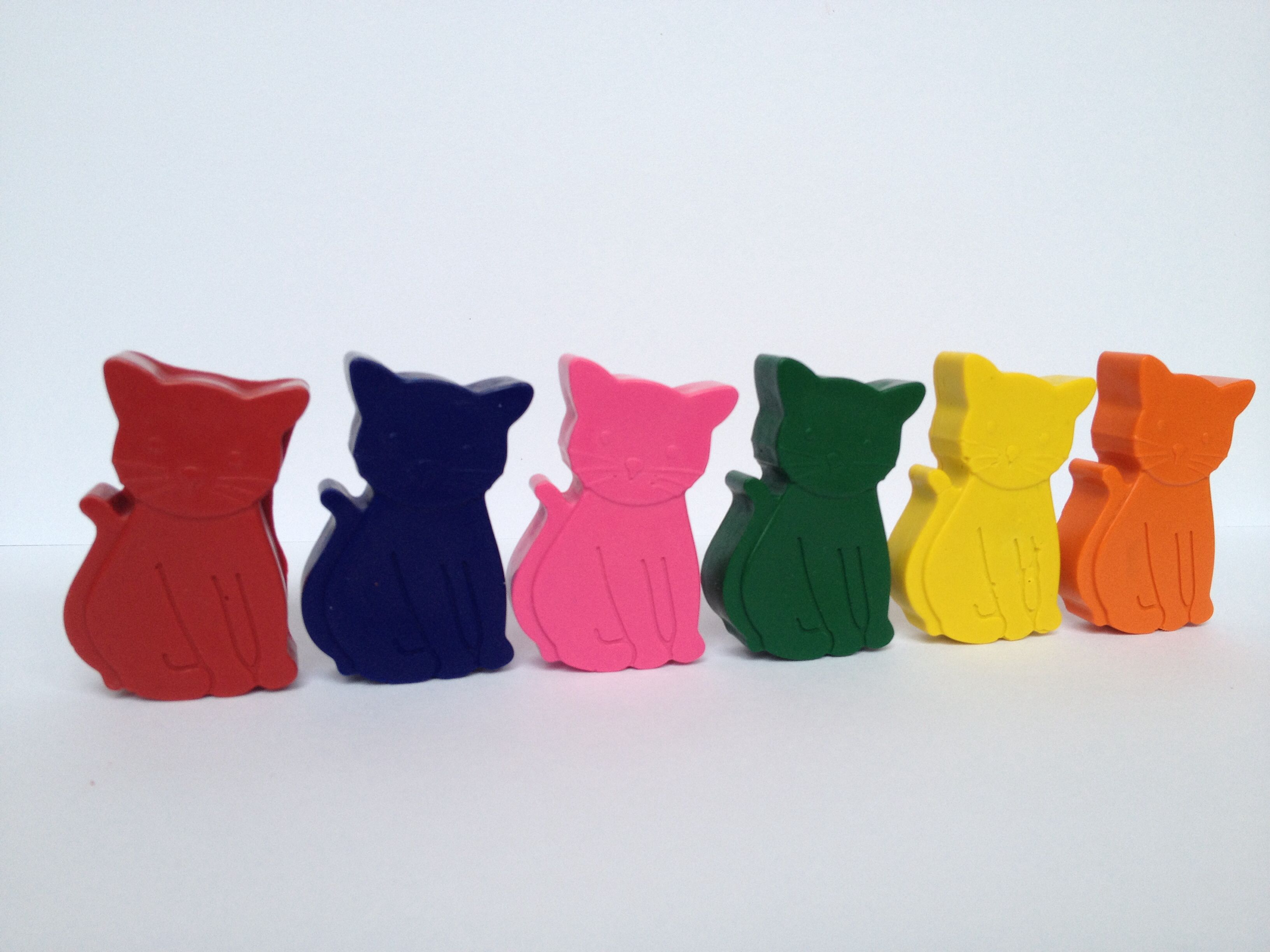 Meow. Handmade non-toxic novelty crayons.  www.facebook.com/isquiggle