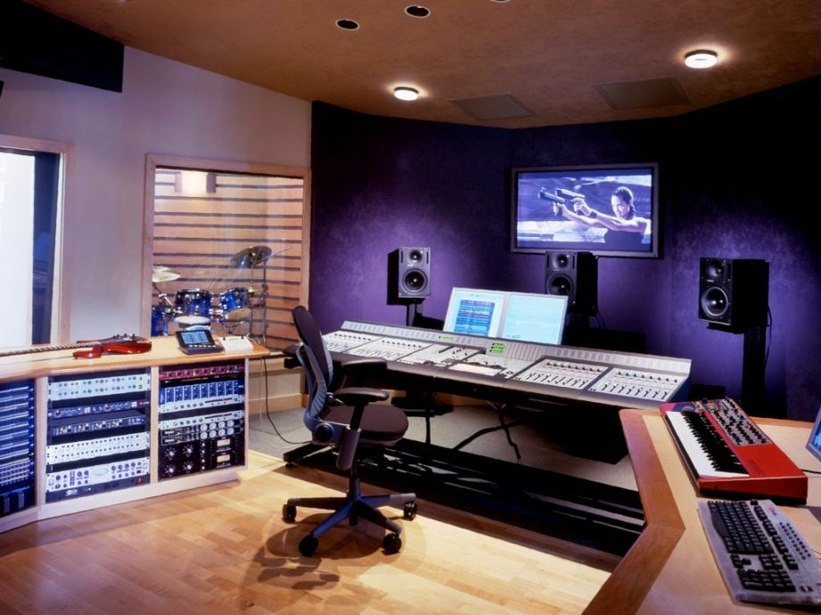 Bon Home Recording Studio Design Ideas