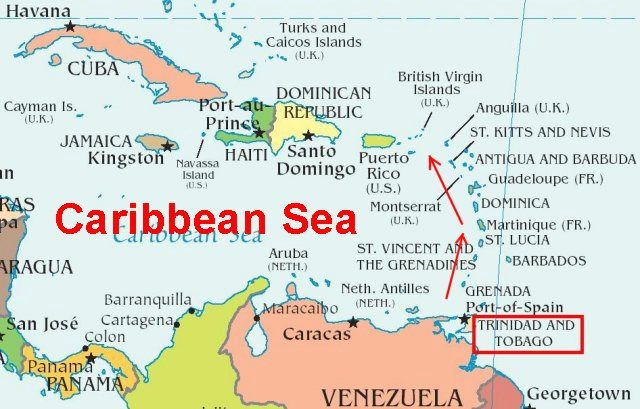 Trinidad Permission to Come Aboard Every Country has a Story SZ