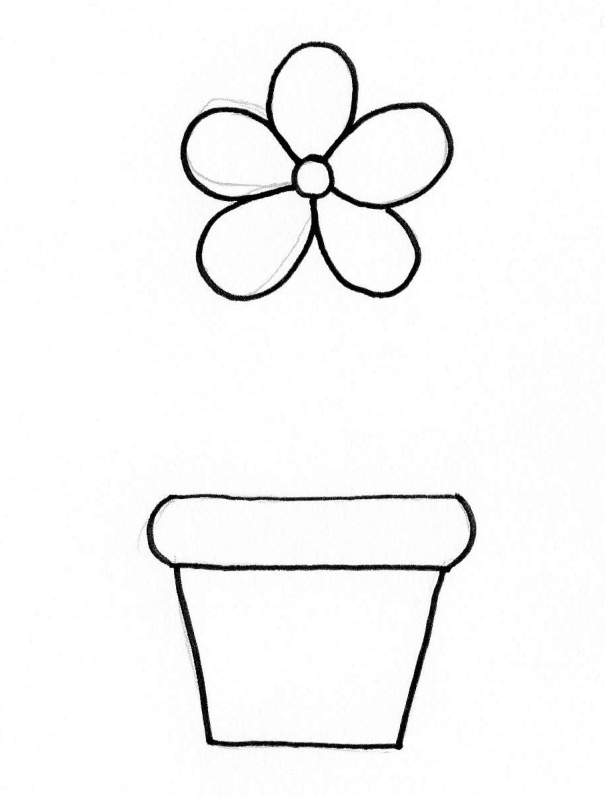 How To Draw Flowers Easy Ways To Draw Simple Flowers Craftsonfire Flower Drawing Simple Flower Drawing Easy Flower Drawings