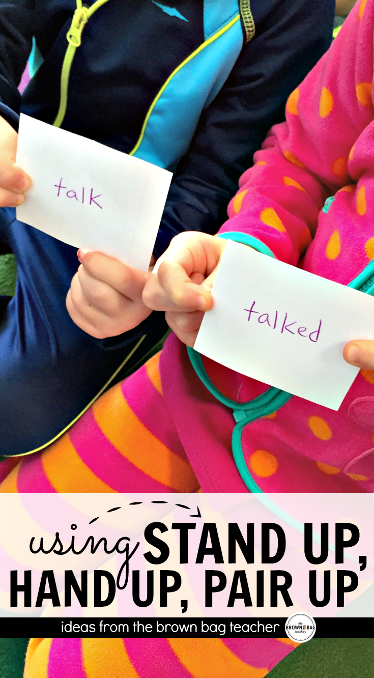 Collaborative Learning Classroom Management : Stand up hand pair students cooperative