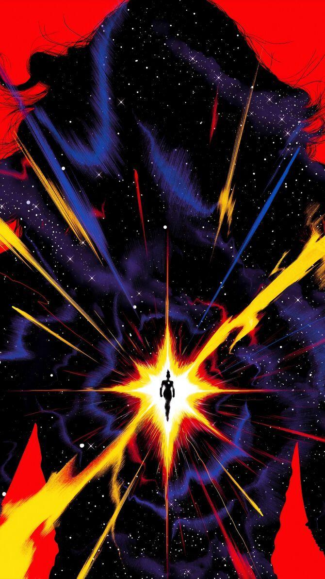 Captain Marvel (2019) Phone Wallpaper