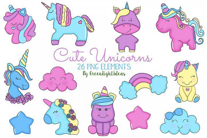 Cute Unicorns Clipart, Unicorns Graphics, Doodle Unicorns - Cute unicorn, Unicorns clipart, Graphic illustration, Clip art, Creating planners, Unicorns digital - Cute Unicorns Clipart, Unicorns Graphics, Doodle Unicorns by Green Light Ideas available for $4 at DesignBundles net