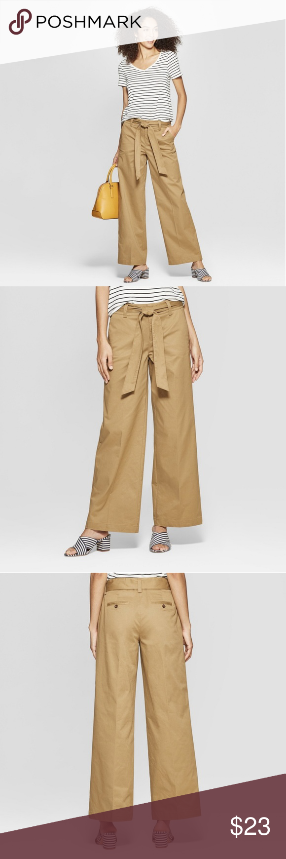 NWT wide leg pants size 6 These are brand new with tags, a new day, by target wide leg pants.  Size...