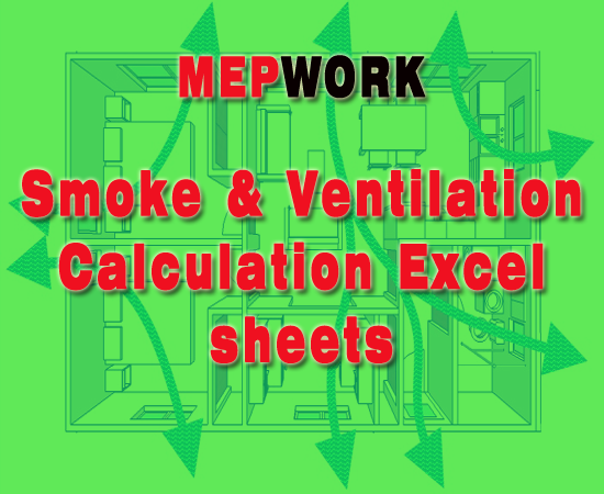 Smoke and Ventilation Calculation Excel sheets Room