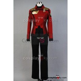 Star Trek Online General Discussion Admiral Uniform Costume Female--- Star Trek Cosplay Costume    CosplaySky.com $140