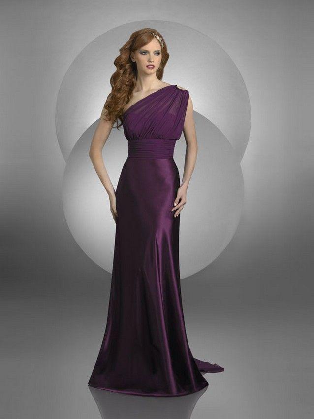 Bari Jay 410 Bridesmaid Dress A-line Skirt Peek-A-Boo Strap