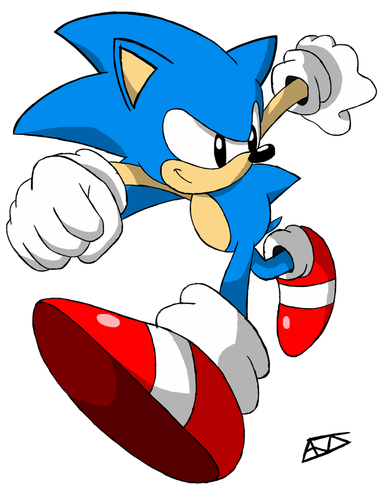 Classic Sonic Adventure 2 Pose By Drawn By Aj On Deviantart In 2020 Sonic Adventure Classic Sonic Sonic Adventure 2